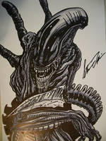 aliens quick sketch by stevelydic