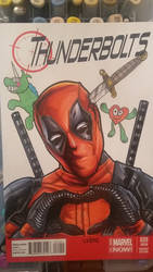 deadpool sketch cover