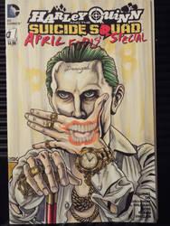Joker sketch cover by stevelydic