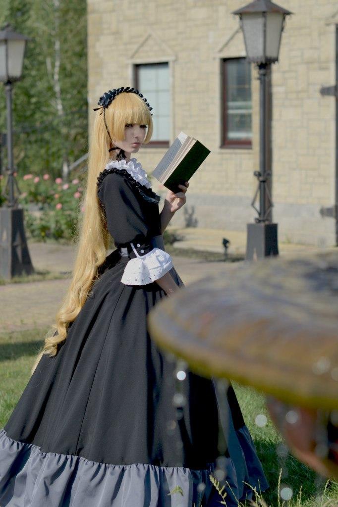 Victorique de Blouise: black dress by LisaVasya