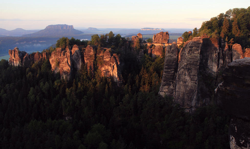Saxon Switzerland III by AeterneNovusNatus