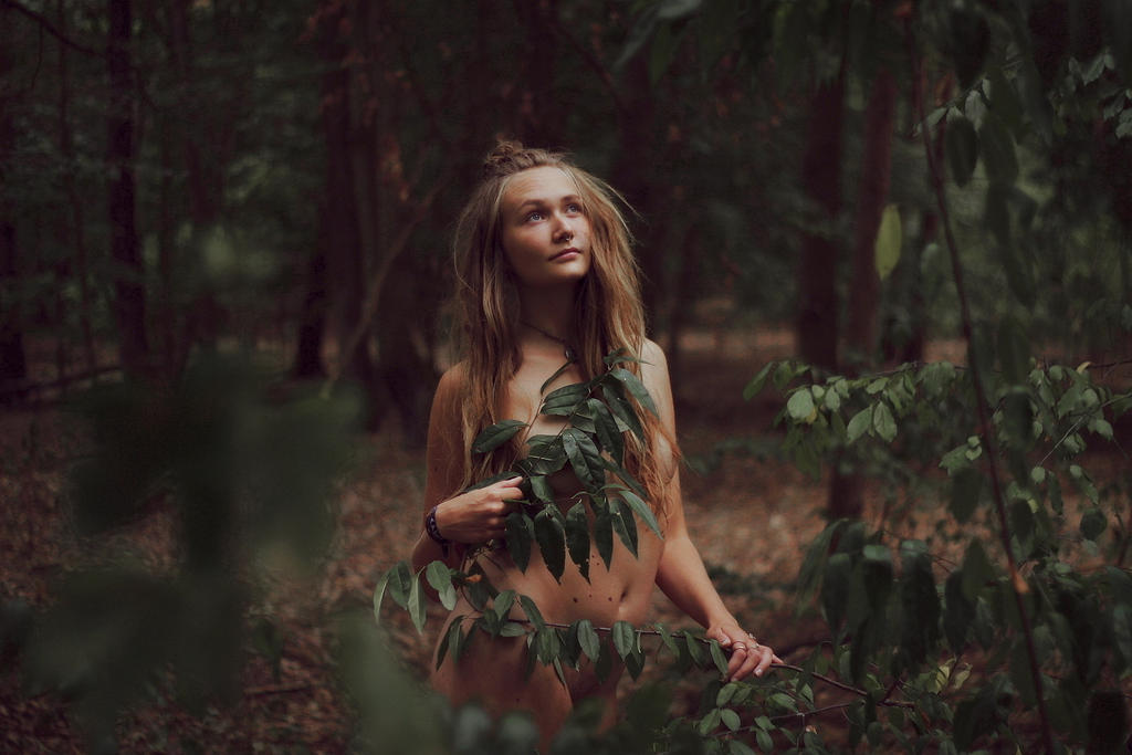 do you believe in forest elves? by AeterneNovusNatus