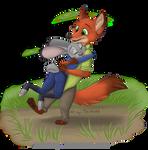 Nick and Judy Hug