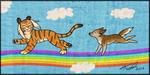 Somwah Ova Da Rainbow by Fecu