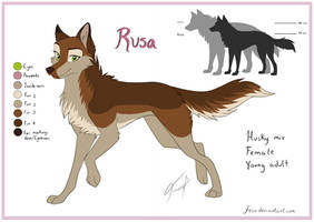 Rusa Reference Sheet 2017 by Fecu