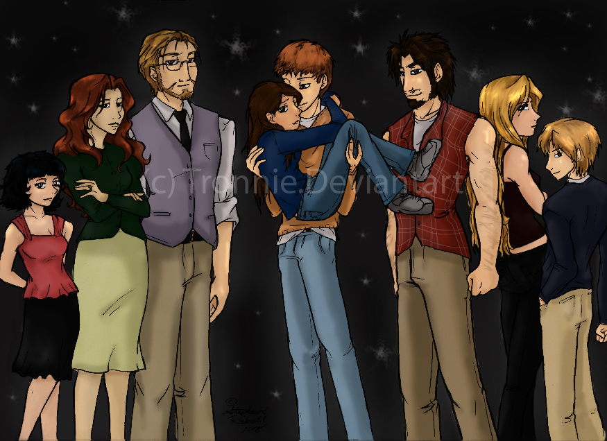 The Cullens the cullens familytronnie on deviantart