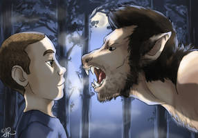 Big Bad Wolf by tronnie