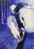 Unicorns by tronnie