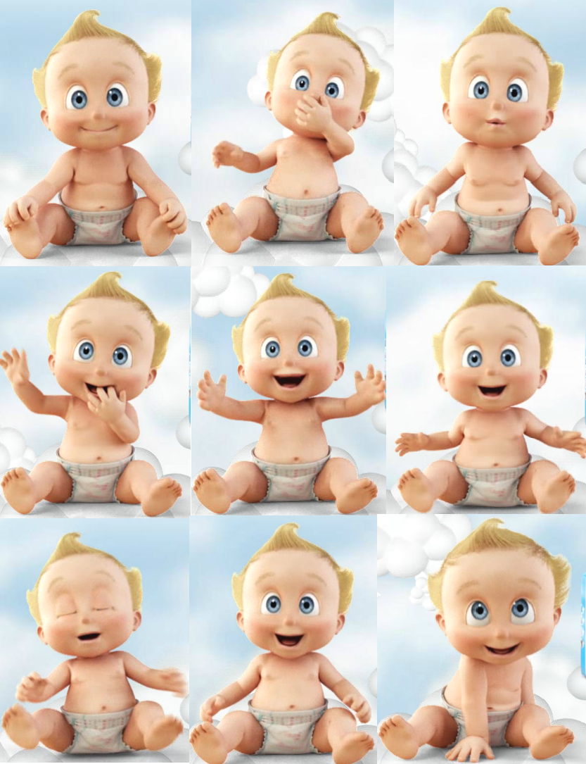 baby picture collage