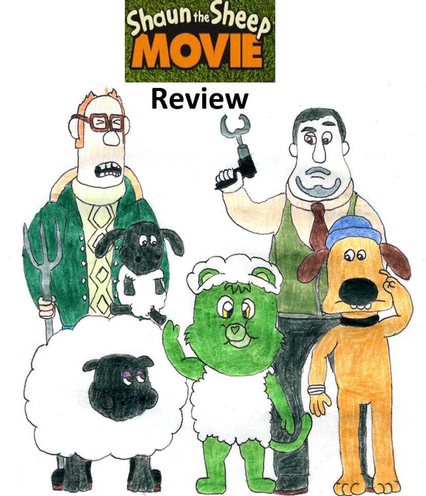 Shaun The Sheep Movie Review By BlazeHeartPanther