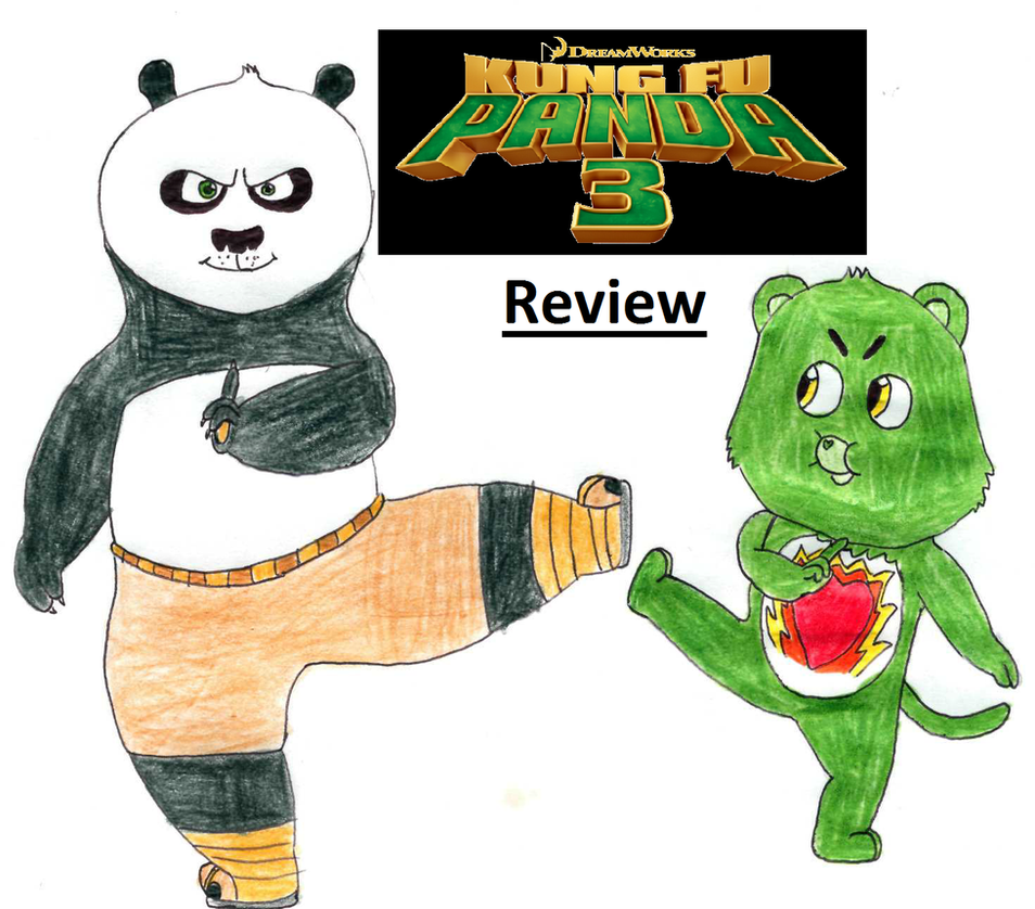 Kung Fu Panda 3 review by BlazeHeartPanther