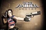 Cosplay Lara Croft - Tomb Raider Legend Union Jack by MissCroftCosplay