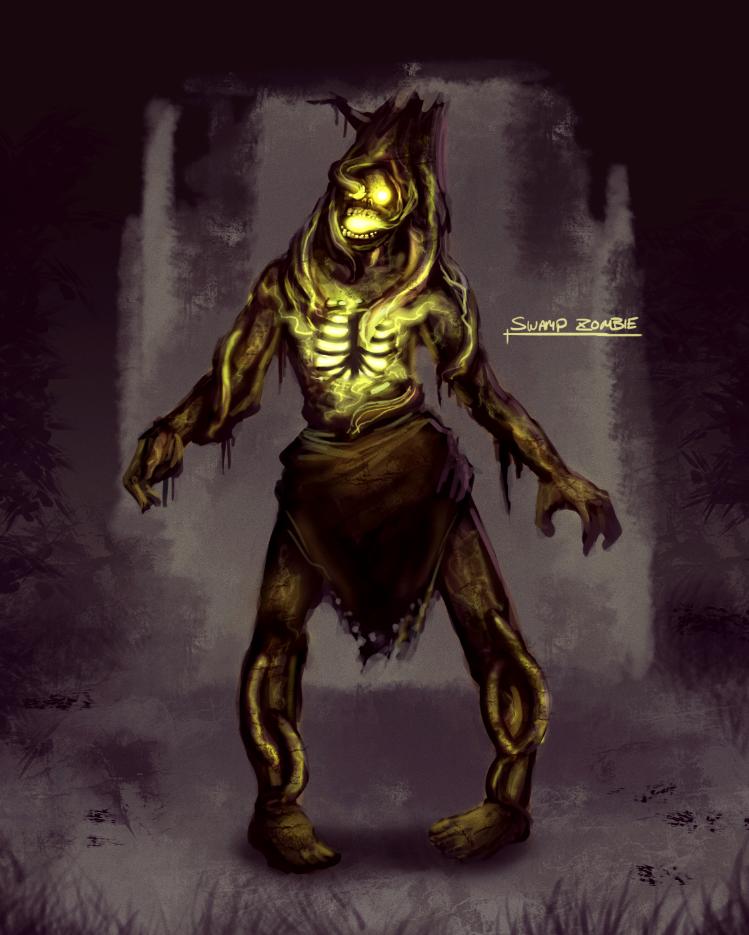 Swamp Zombie by RyomaNinja