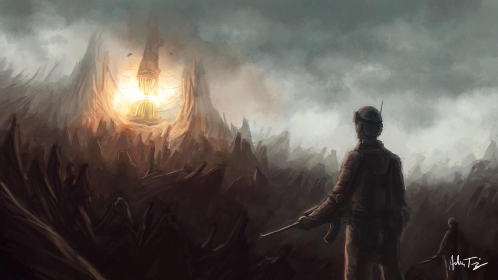 Mining Area Concept by AdamRyomaTazi