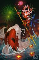 Art of Revelry Contest Entry: Koi Fizz by ARTazi