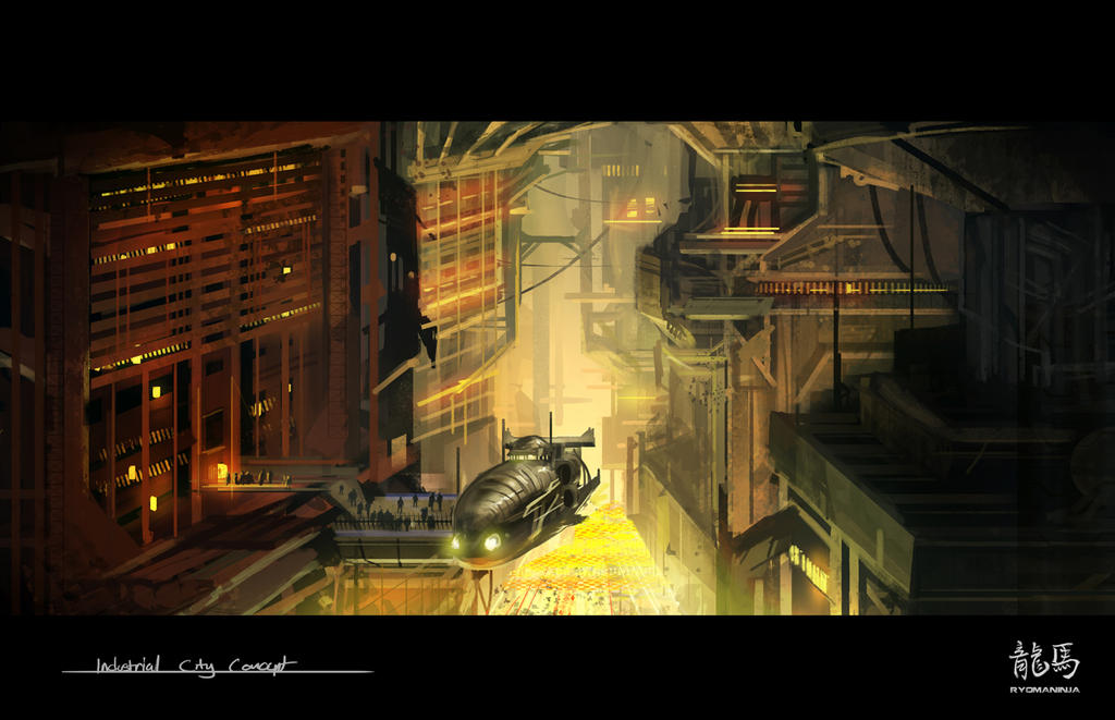 Industrial City by RyomaNinja