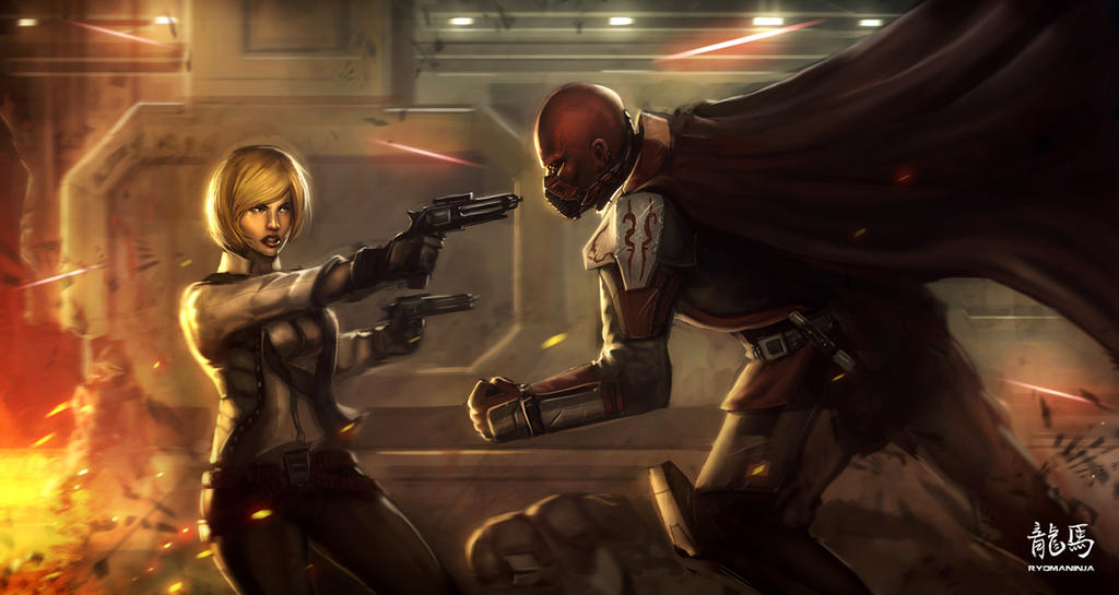 +Commission The Old Republic+ by RyoTazi
