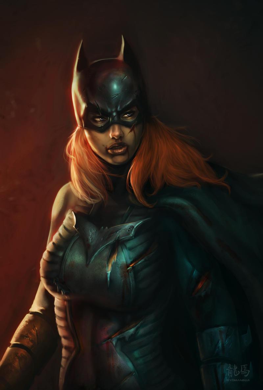 Batgirl Rises by RyomaNinja