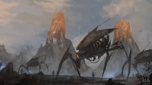 Spider Mechs Speedpaint