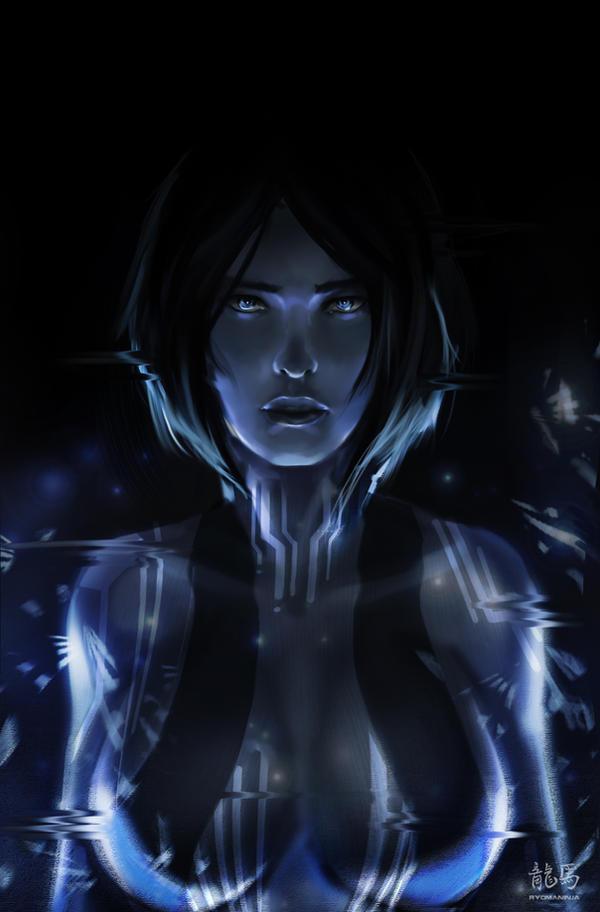 Cortana by RyomaNinja