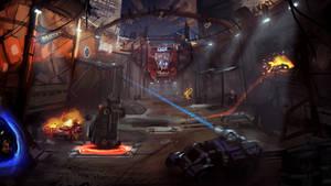 Warp Derby | Arena Concept