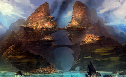 Grapple | City Concept by ARTazi