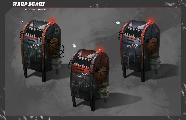 Warp Derby | Mailbomb Concept by AdamRyomaTazi