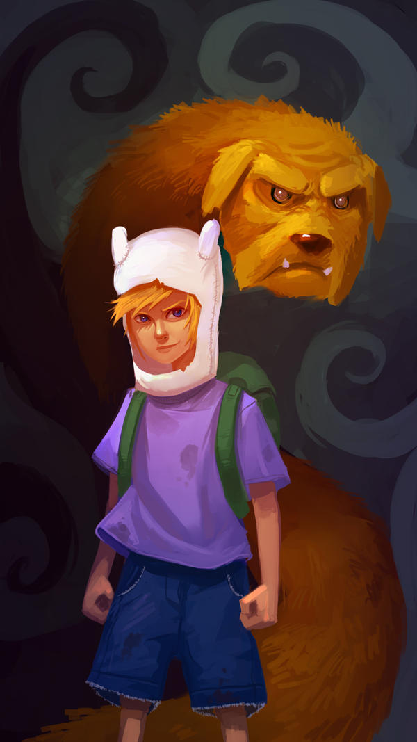 Adventure Time by RyomaNinja