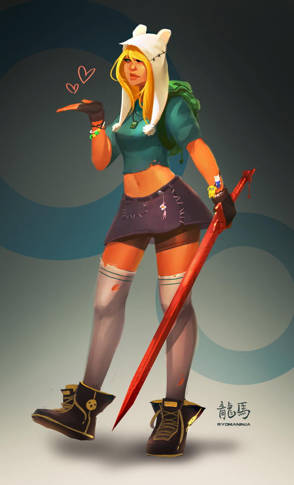 Fionna Redesign Concept by RyomaNinja