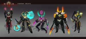 Cyber Diablo Fan Concept