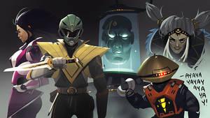 Power Rangers: Sketchdump by ARTazi