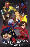 Twitch   Super Heroes Art Request Stream