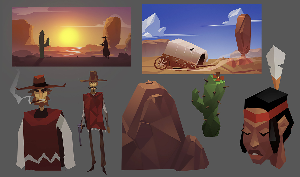 Western RPG Concepts by RyoTazi