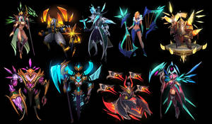 Heroes of Newerth: Paragon Series by ARTazi