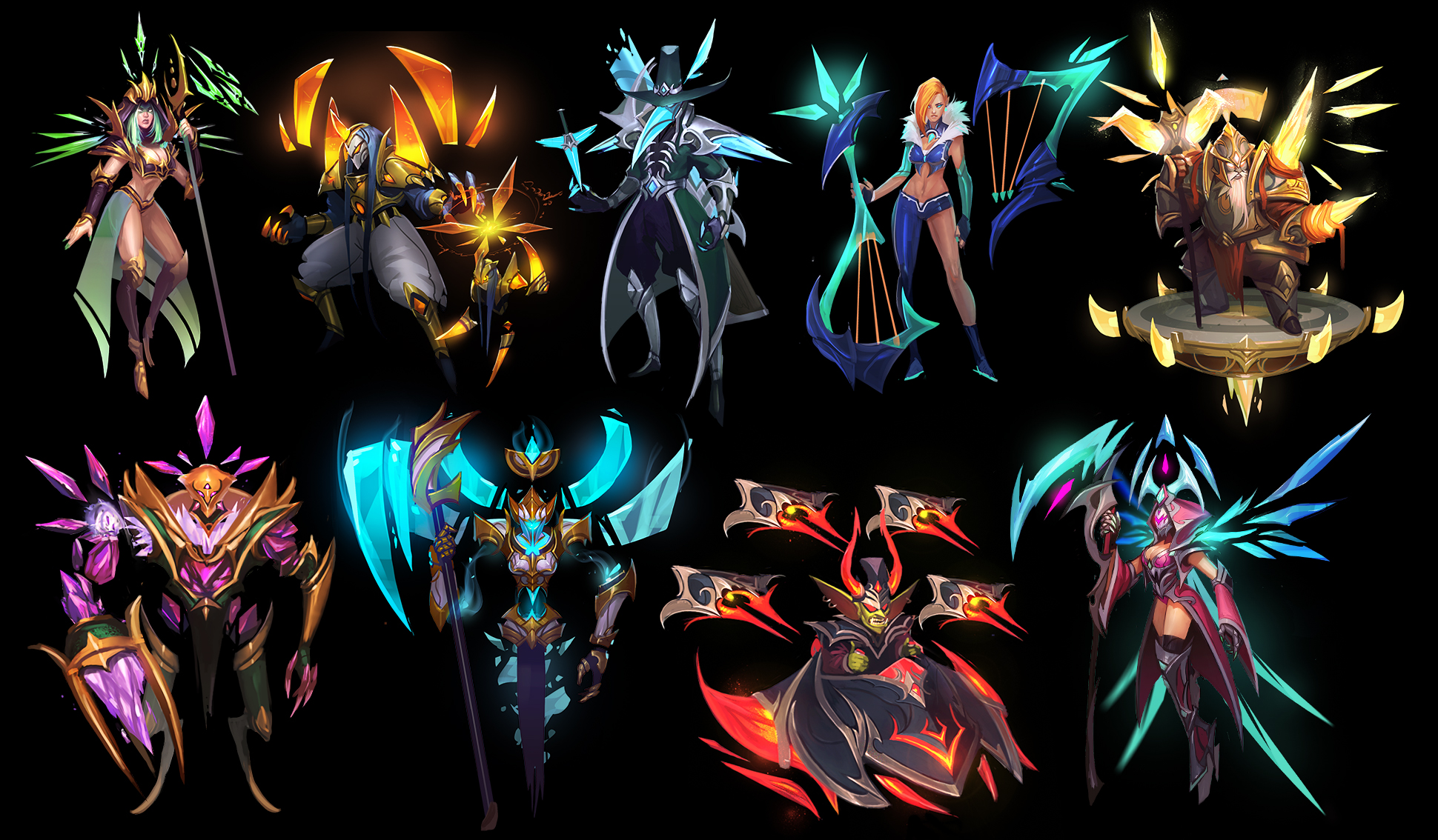 Heroes of Newerth: Paragon Series by RyoTazi