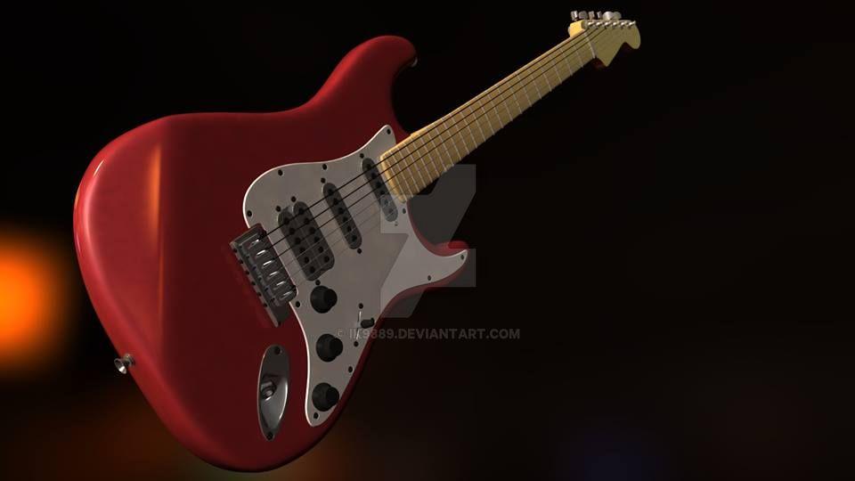 Guitar by ik9889