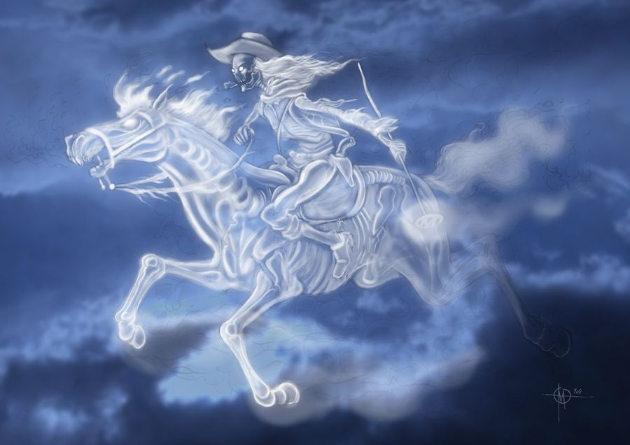 ghost riders in the sky by nedesem on DeviantArt