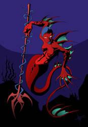 mermaid by nedesem