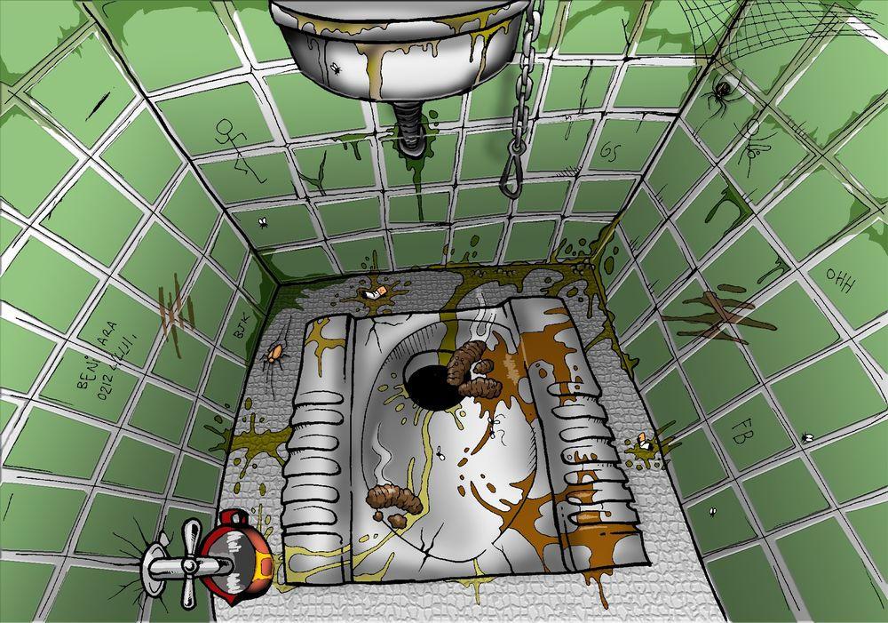 Toilet a la turca by nedesem on deviantart for Bagno alla turca