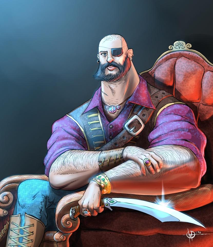 Mr pirate by nedesem on deviantart - Monsieur pirate ...