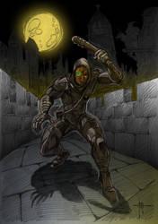 garrett from thief series by nedesem