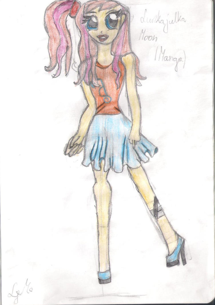 My Oc Manga by Lunajula