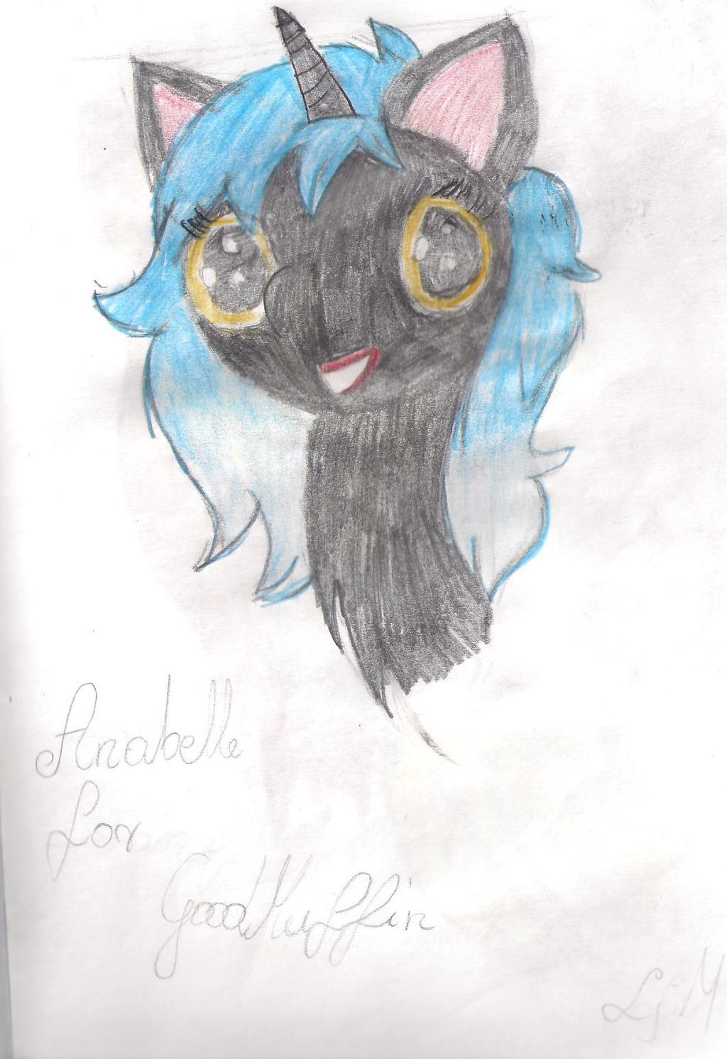Anabelle for Goodmuffin by Lunajula