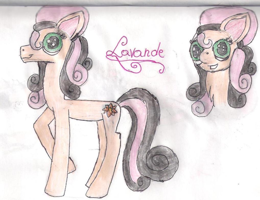 my new oc,Lavande by Lunajula