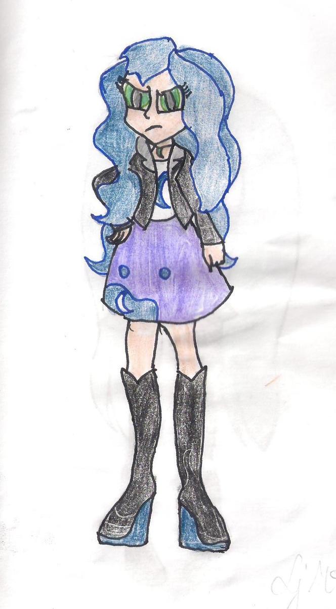 Nightmare Moon Human Version by Lunajula