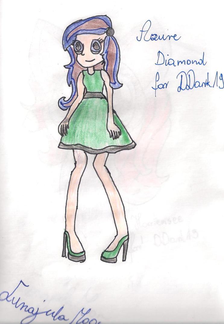Azure Diamond for DDark19 by Lunajula