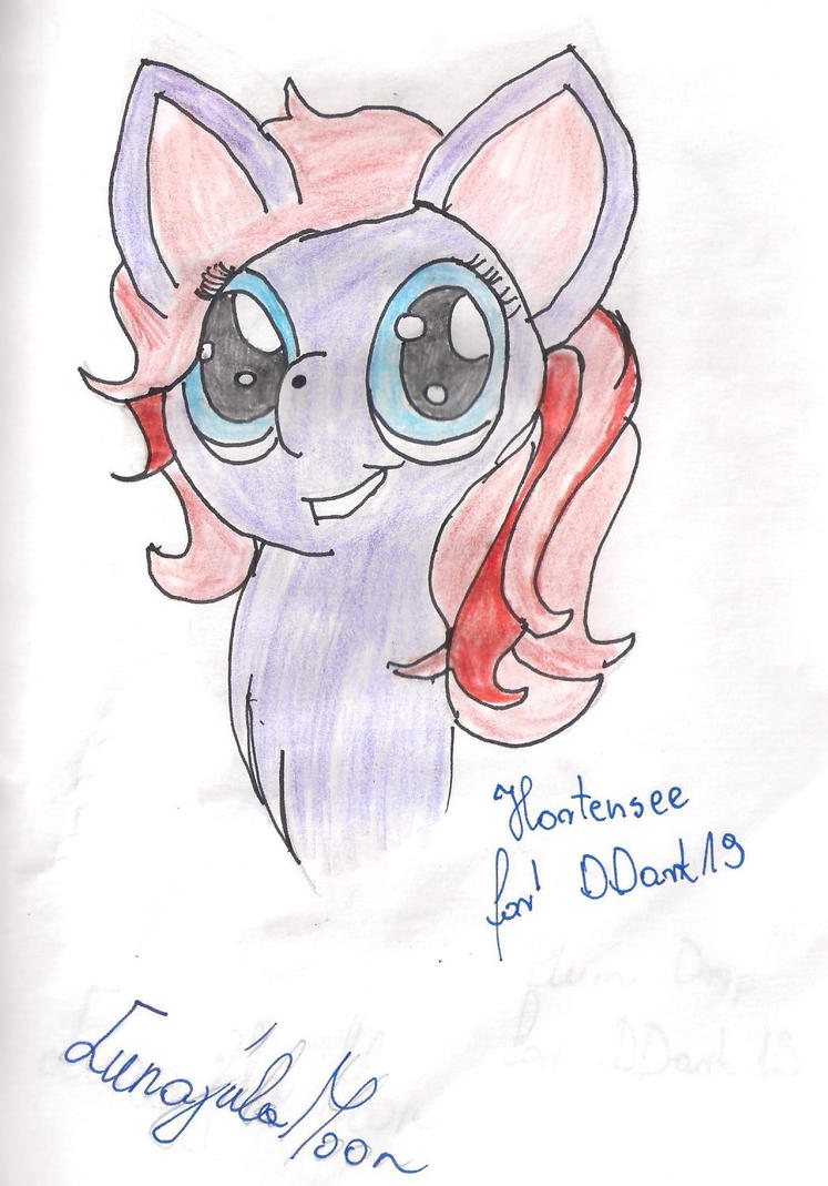 Hortensee for DDark19 by Lunajula