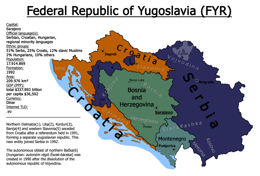 Federal Republic of Yugoslavia by makeridov ...