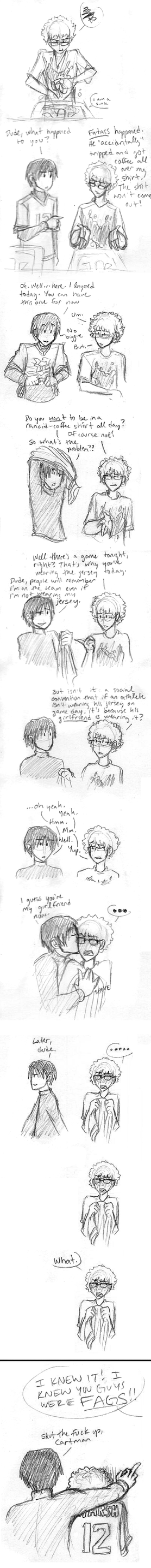 DDD3: this comic is kinda gay by Dakt37