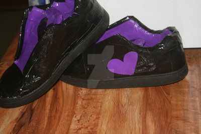 Heart Shoes by SamD2010